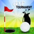 Golf tournament — Stockfoto #37442737
