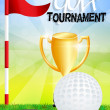 Golf tournament — Foto de stock #37442743