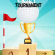 Golf tournament — Stok Fotoğraf #37443023