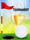 Golf tournament — Stock Photo