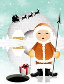 Vánoční pohlednice — Stock fotografie