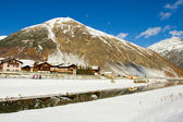 Livigno i vinter — Stockfoto