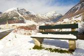 Livigno d'inverno — Foto Stock