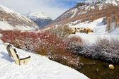 Livigno im winter — Stockfoto