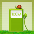Stock Photo: Eco gas station
