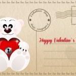 Valentines postcard — Stock Photo #38471857