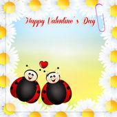 Valentines postcard — Stock Photo