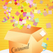 Confetti for Carnival — Stock Photo #38909861