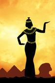 Cleopatra in Egypt — Stock Photo