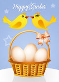 Greeting card for Easter — Stock Photo