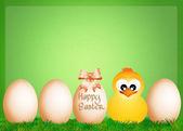 Veselé velikonoce — Stock fotografie