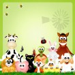 Farm animals — Stock Photo #39389121