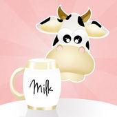Milk tetra pak — Stockfoto