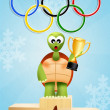 Winter Olympics games — Stock Photo #39720583