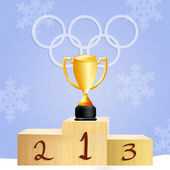 Winter Olympics games — Foto de Stock