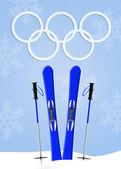 Olympiska vinterspelen — Stockfoto