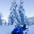 Snowmobile — Stock Photo #40358571