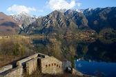 Idro lake, Italy — Stockfoto
