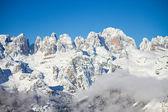 Dolomitas en invierno — Foto de Stock