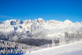 Clouds on Dolomites — Stock Photo
