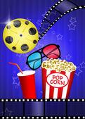 Kino 3d — Zdjęcie stockowe