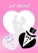 Svatební přání — Stock fotografie