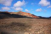 Volcanic landscape, Lanzarote — Stock Photo