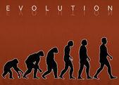 Evolución humana — Foto de Stock