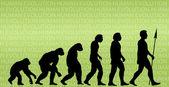 Insanın evrimi — Stok fotoğraf