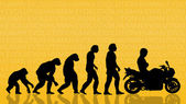 Human evolution — Stock Photo