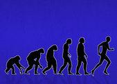 Menselijke evolutie — Stockfoto