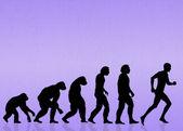 Human evolution — Stock Photo