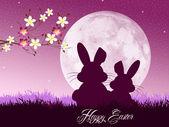 Easter bunnies — Stock Photo