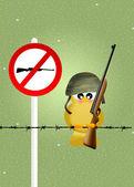 Bird hunting — Stock Photo