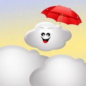 Weather icon — Stockfoto