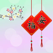 Chinese amulets — Stock Photo