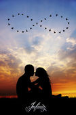 Love to infinity — Stock Photo