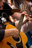 Guitarist — Zdjęcie stockowe