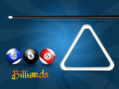 Play to billiards — Stock Photo