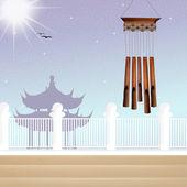 Wind chimes — Stock Photo