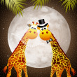 Giraffe in love — Stock Photo #45971351