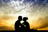 Love to infinity — Stockfoto