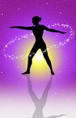 Body energy — Stockfoto