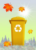 Bins for recycle — Stock Photo