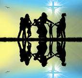 Celebrar jesús — Foto de Stock
