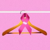 Breast cancer ribbon — Stock Photo