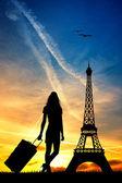 Trip to Paris — Stock Photo