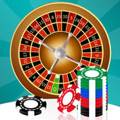 Roulette in the casino — Stock Photo