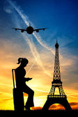 Trip in Paris — Stock Photo