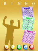 Win at bingo — Stock Photo